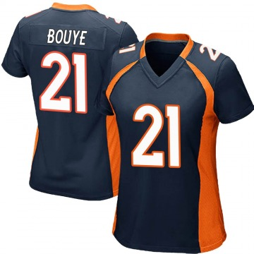 Women's Nike Denver Broncos A.J. Bouye Navy Blue Alternate Jersey - Game
