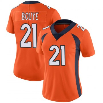 Women's Nike Denver Broncos A.J. Bouye Orange Team Color Vapor Untouchable Jersey - Limited