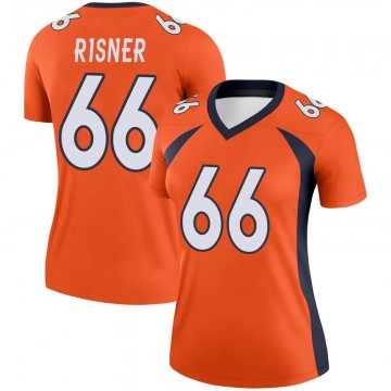 Women's Nike Denver Broncos Dalton Risner Orange Jersey - Legend