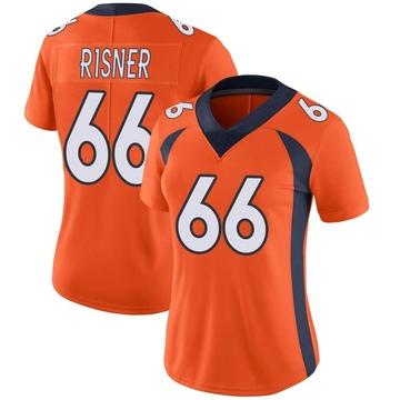Women's Nike Denver Broncos Dalton Risner Orange Team Color Vapor Untouchable Jersey - Limited