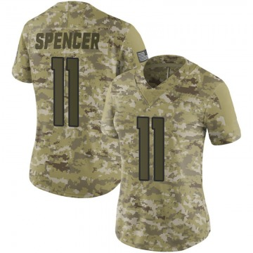 Women's Nike Denver Broncos Diontae Spencer Camo 2018 Salute to Service Jersey - Limited