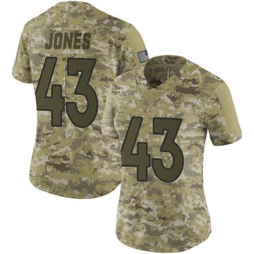 Women's Nike Denver Broncos Joe Jones Camo 2018 Salute to Service Jersey - Limited