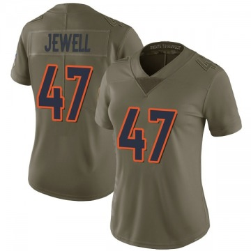 Women's Nike Denver Broncos Josey Jewell Green 2017 Salute to Service Jersey - Limited