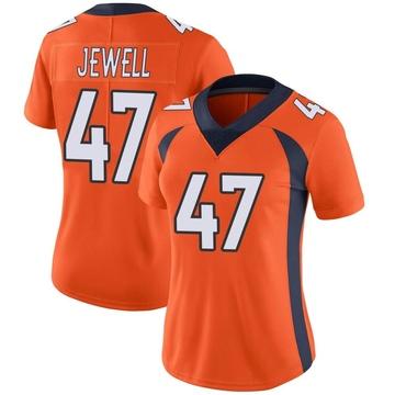 Women's Nike Denver Broncos Josey Jewell Orange Team Color Vapor Untouchable Jersey - Limited