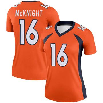 Women's Nike Denver Broncos Kelvin McKnight Orange Jersey - Legend