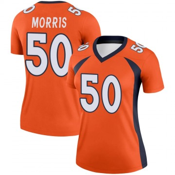 Women's Nike Denver Broncos Patrick Morris Orange Jersey - Legend