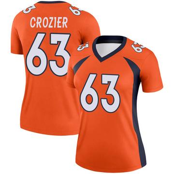 Women's Nike Denver Broncos Ryan Crozier Orange Jersey - Legend