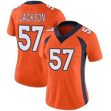 Women's Nike Denver Broncos Tom Jackson Orange Team Color Vapor Untouchable Jersey - Limited