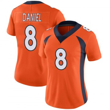 Women's Nike Denver Broncos Trevor Daniel Orange Team Color Vapor Untouchable Jersey - Limited