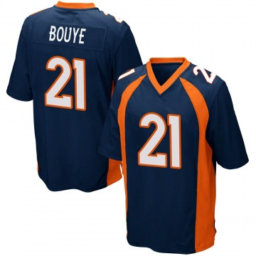 Youth Nike Denver Broncos A.J. Bouye Navy Blue Alternate Jersey - Game