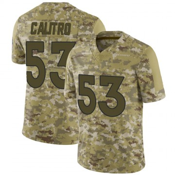 Youth Nike Denver Broncos Austin Calitro Camo 2018 Salute to Service Jersey - Limited