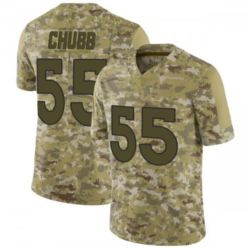 Youth Nike Denver Broncos Bradley Chubb Camo 2018 Salute to Service Jersey - Limited