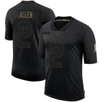 Youth Nike Denver Broncos Brandon Allen Black 2020 Salute To Service Jersey - Limited