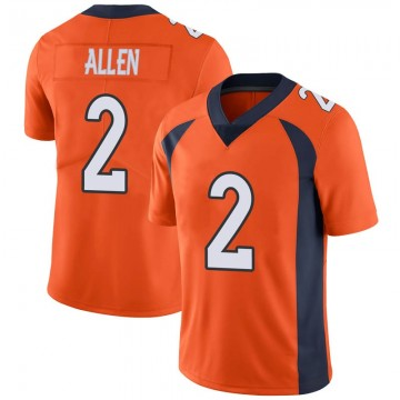 Youth Nike Denver Broncos Brandon Allen Orange Team Color Vapor Untouchable Jersey - Limited