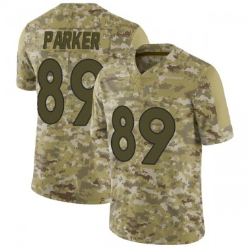 Youth Nike Denver Broncos Brian Parker Camo 2018 Salute to Service Jersey - Limited