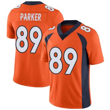 Youth Nike Denver Broncos Brian Parker Orange Team Color Vapor Untouchable Jersey - Limited