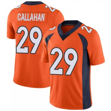 Youth Nike Denver Broncos Bryce Callahan Orange 100th Vapor Jersey - Limited