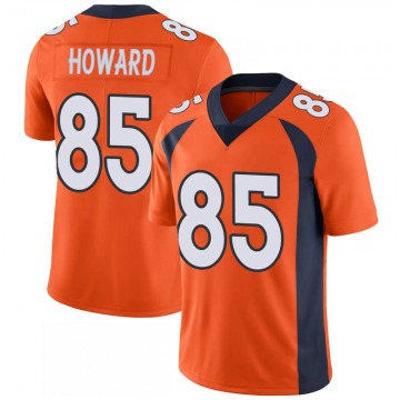 Youth Nike Denver Broncos Bug Howard Orange 100th Vapor Jersey - Limited