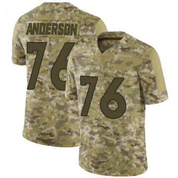 Youth Nike Denver Broncos Calvin Anderson Camo 2018 Salute to Service Jersey - Limited