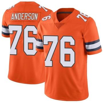 Youth Nike Denver Broncos Calvin Anderson Orange Color Rush Vapor Untouchable Jersey - Limited