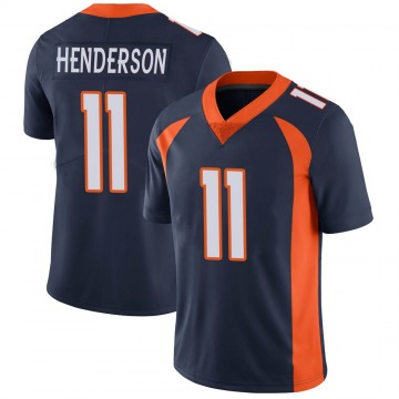 Youth Nike Denver Broncos Carlos Henderson Navy Vapor Untouchable Jersey - Limited