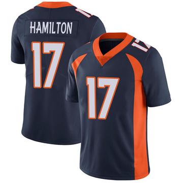Youth Nike Denver Broncos DaeSean Hamilton Navy Vapor Untouchable Jersey - Limited