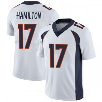 Youth Nike Denver Broncos DaeSean Hamilton White Vapor Untouchable Jersey - Limited