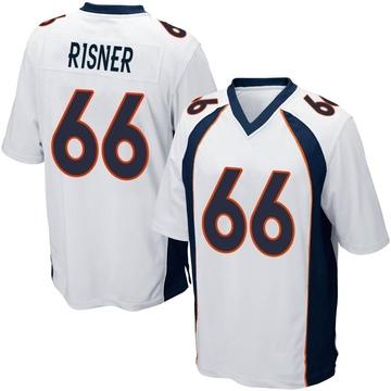 Youth Nike Denver Broncos Dalton Risner White Jersey - Game