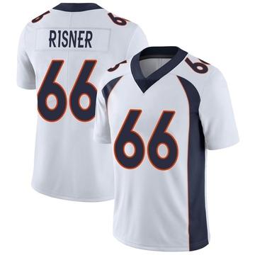 Youth Nike Denver Broncos Dalton Risner White Vapor Untouchable Jersey - Limited
