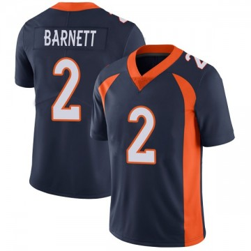Youth Nike Denver Broncos Dante Barnett Navy Vapor Untouchable Jersey - Limited