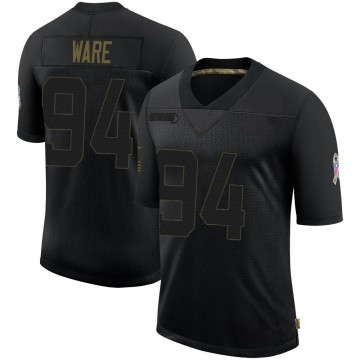 Youth Nike Denver Broncos DeMarcus Ware Black 2020 Salute To Service Jersey - Limited