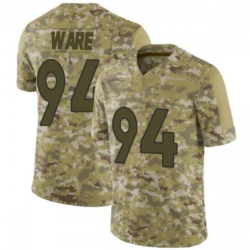 Youth Nike Denver Broncos DeMarcus Ware Camo 2018 Salute to Service Jersey - Limited