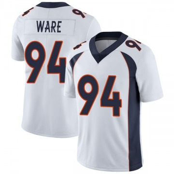 Youth Nike Denver Broncos DeMarcus Ware White Vapor Untouchable Jersey - Limited