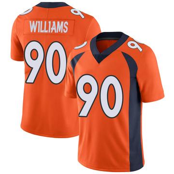 Youth Nike Denver Broncos DeShawn Williams Orange Team Color Vapor Untouchable Jersey - Limited