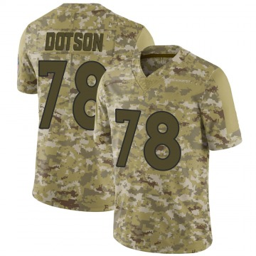Youth Nike Denver Broncos Demar Dotson Camo 2018 Salute to Service Jersey - Limited