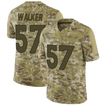Youth Nike Denver Broncos Demarcus Walker Camo 2018 Salute to Service Jersey - Limited