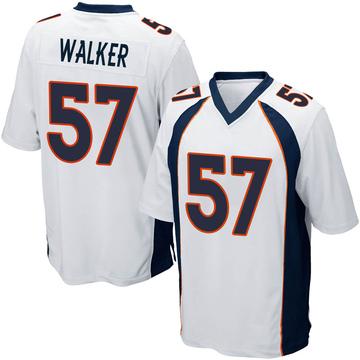 Youth Nike Denver Broncos Demarcus Walker White Jersey - Game
