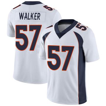 Youth Nike Denver Broncos Demarcus Walker White Vapor Untouchable Jersey - Limited
