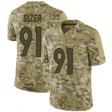 Youth Nike Denver Broncos Deyon Sizer Camo 2018 Salute to Service Jersey - Limited