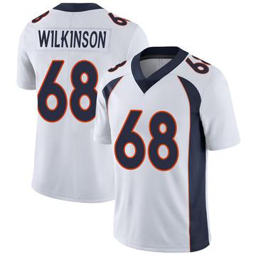 Youth Nike Denver Broncos Elijah Wilkinson White Vapor Untouchable Jersey - Limited