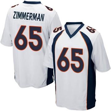 Youth Nike Denver Broncos Gary Zimmerman White Jersey - Game