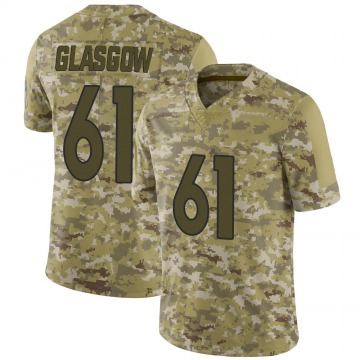 Youth Nike Denver Broncos Graham Glasgow Camo 2018 Salute to Service Jersey - Limited