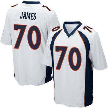 Youth Nike Denver Broncos Ja'Wuan James White Jersey - Game