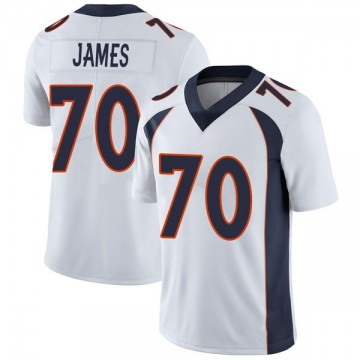 Youth Nike Denver Broncos Ja'Wuan James White Vapor Untouchable Jersey - Limited
