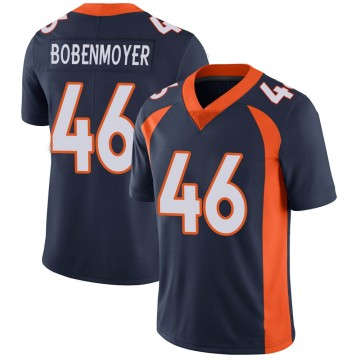 Youth Nike Denver Broncos Jacob Bobenmoyer Navy Vapor Untouchable Jersey - Limited
