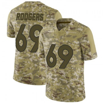 Youth Nike Denver Broncos Jake Rodgers Camo 2018 Salute to Service Jersey - Limited