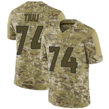 Youth Nike Denver Broncos Jay-Tee Tiuli Camo 2018 Salute to Service Jersey - Limited
