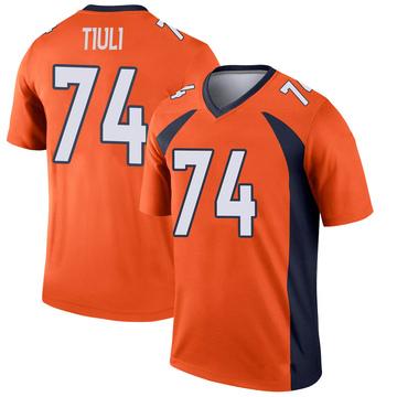 Youth Nike Denver Broncos Jay-Tee Tiuli Orange Jersey - Legend