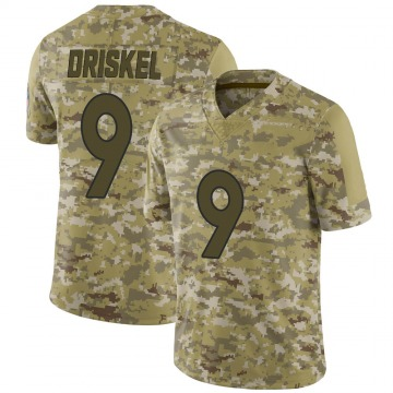 Youth Nike Denver Broncos Jeff Driskel Camo 2018 Salute to Service Jersey - Limited