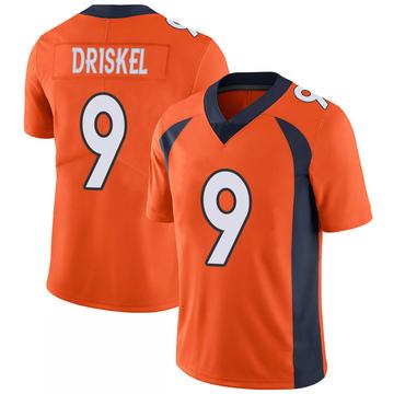Youth Nike Denver Broncos Jeff Driskel Orange 100th Vapor Jersey - Limited